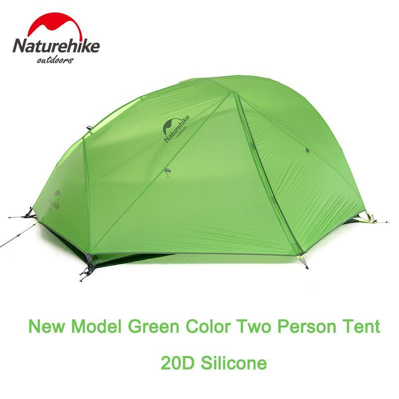 Naturehike 2 Person Double Layers Tent Ultralight Waterproof C&ing Tent 4 Season Tent  sc 1 st  Pinterest & Naturehike 2 Person Double Layers Tent Ultralight Waterproof ...