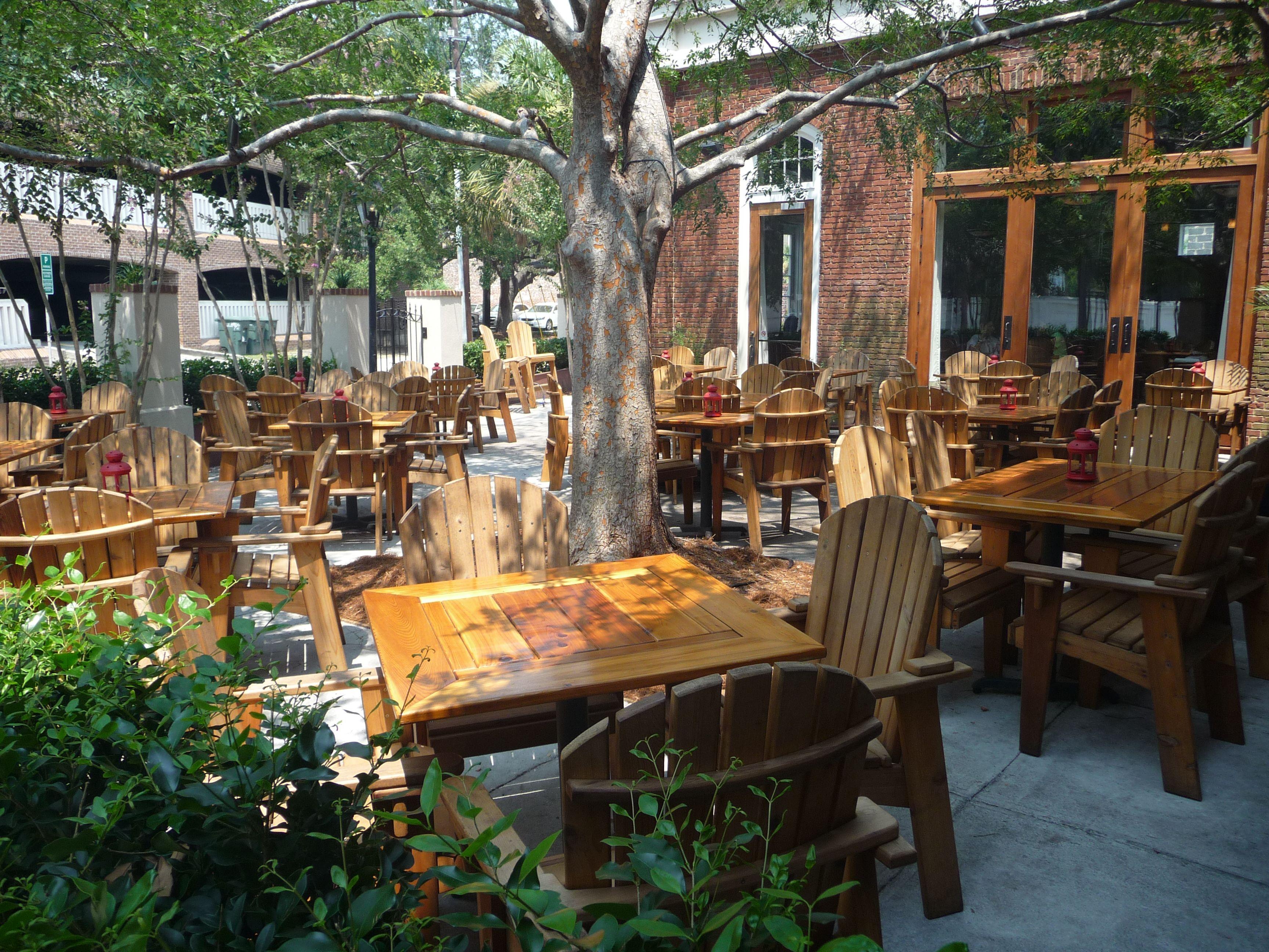 Best outdoor dining in charleston