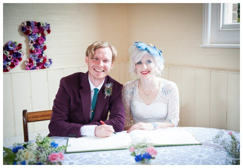 Chantry wedding