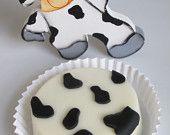 Cow Print Chocolate Covered Oreo