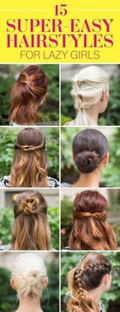 64+ Trendy Frisuren Hochsteckfrisur Easy Lazy Girl French Braids,  #braids #diyhairstyleseasy...