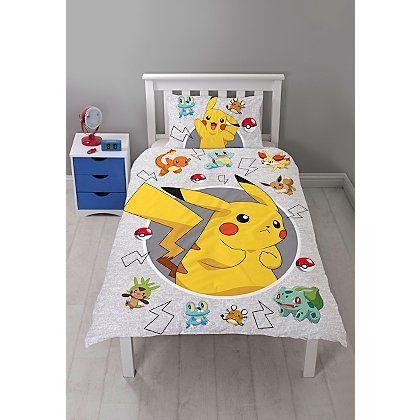 Pokemon Duvet Cover Single Home Garden George Single Duvet Single Quilt Kids Bedding Sets