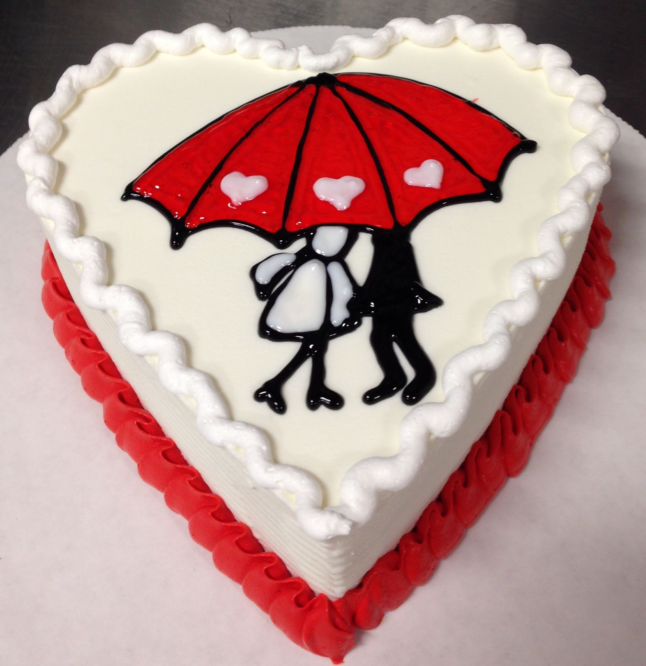 Valentine S Day Dq Mini Heart Ice Cream Cake Dairy Queen Ice Cream Cake Ice Cream Cake Valentines Day Cakes