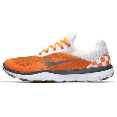 48147aff28 Tennessee Volunteers Nike Free Trainer V7 Week Zero Shoes - Orange/Gray