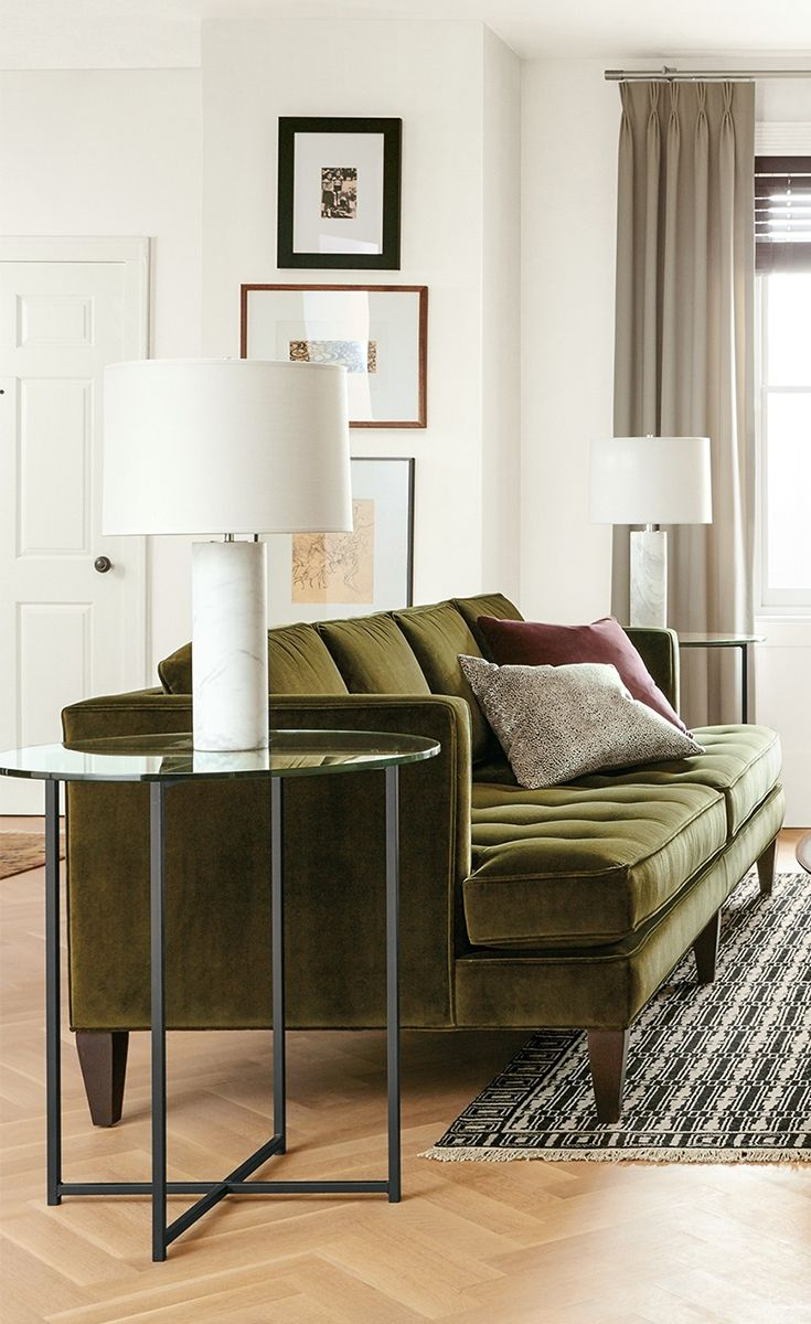 Vintage Sophistication Meets Modern Comfort In Our Hutton Sofa