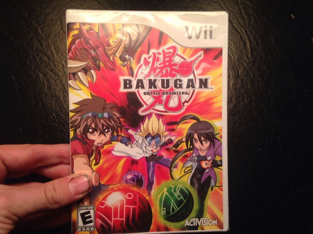 Bakugan Battle Brawlers Nintendo Wii Game New Sealed Strategy