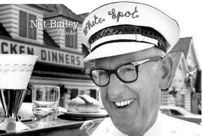 This is Mr. Nat Bailey; he owned the White Spot