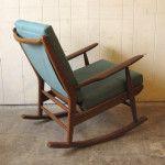 SOLD #S5/9 Rocking chair by Scandart, $775 (ER37)