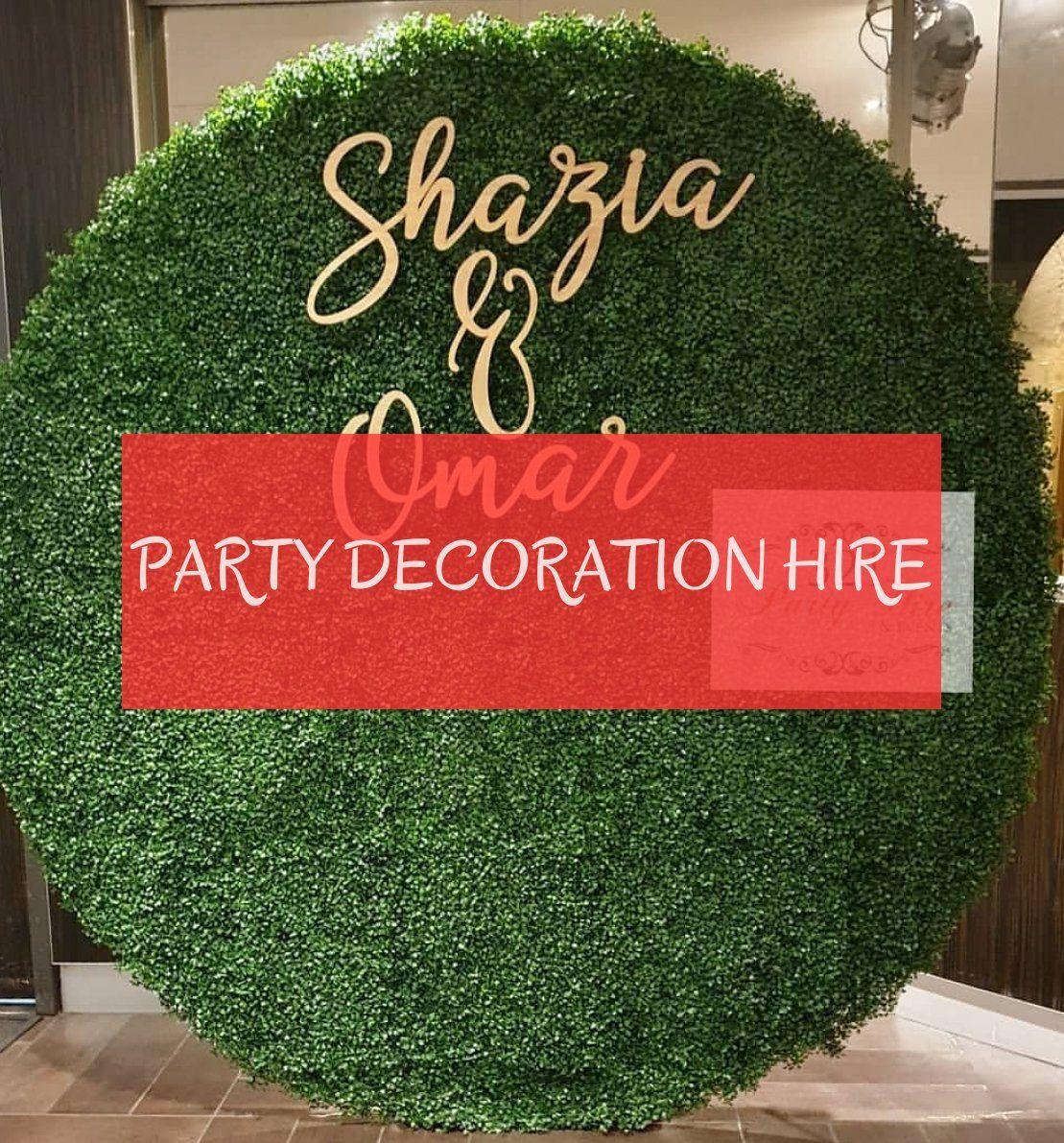 party decoration hire