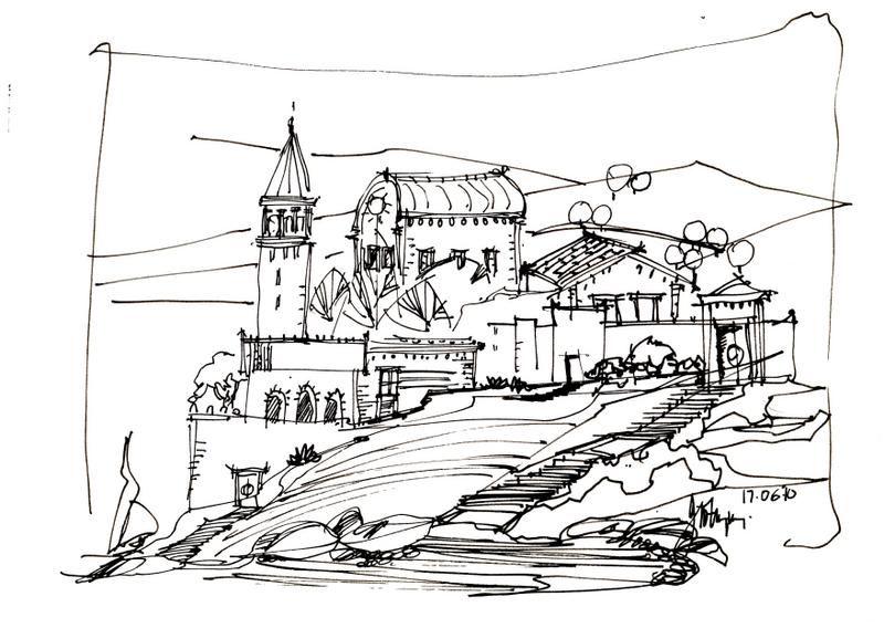 rough architectural sketches. Plain Rough Rough Sketch With Architectural Sketches U