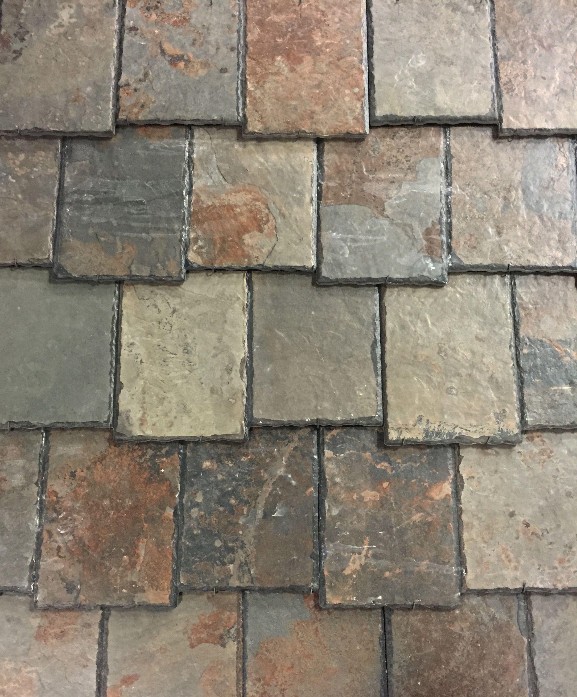 Tuscan Tile Roof Made To Look Like Slate Ironstone