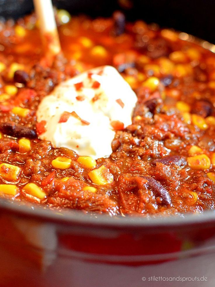 Chili con Carne nach Jamie Oliver #mexicanfoodrecipes