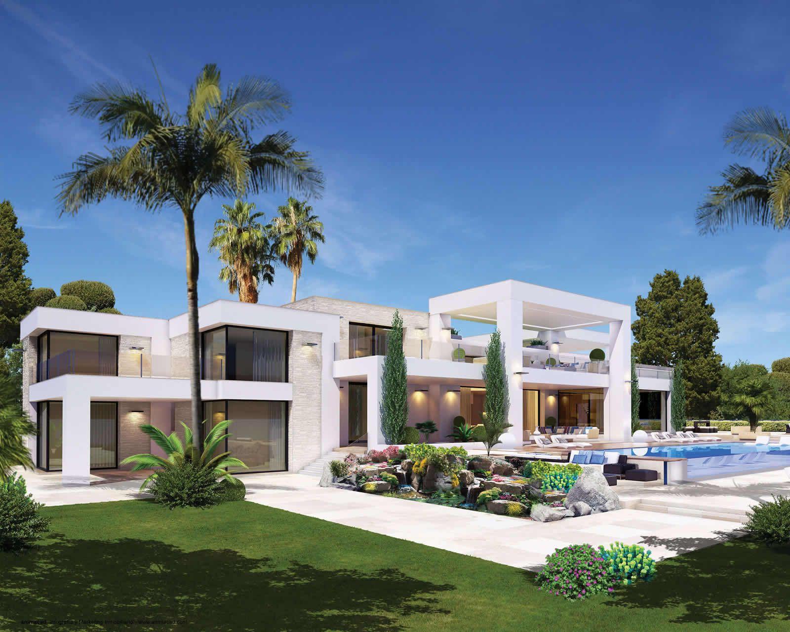 Modern Frontline Beach Villa Marbella