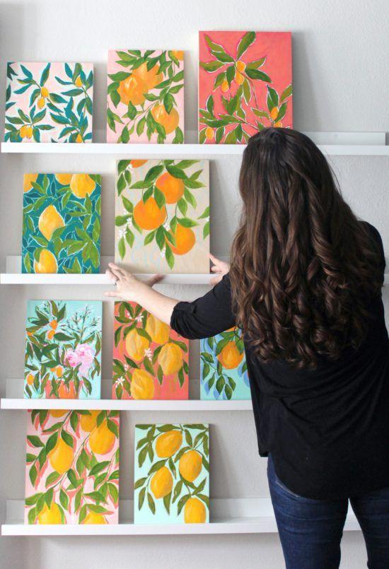 Citrus Season - Caitlin Wallace-Rowland Art & Design