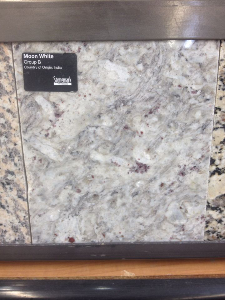 Images Of Stonemark moon white granite at The Home Depot