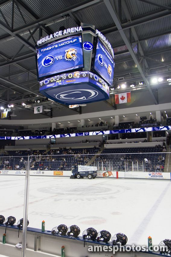 Pegula Ice Arena Pegula Hockey Arena Scoreboard Hockey Arena College Hockey Hockey