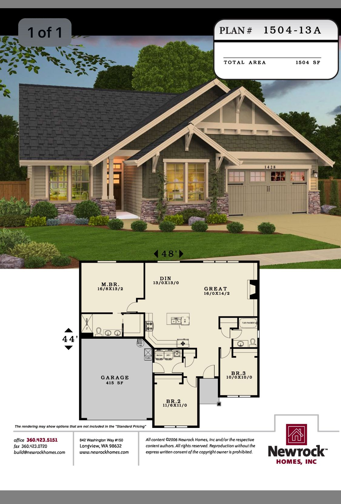 Perfect Bedroom 3 Is A Study Office Craftsman House Plans Dream House Plans House Blueprints