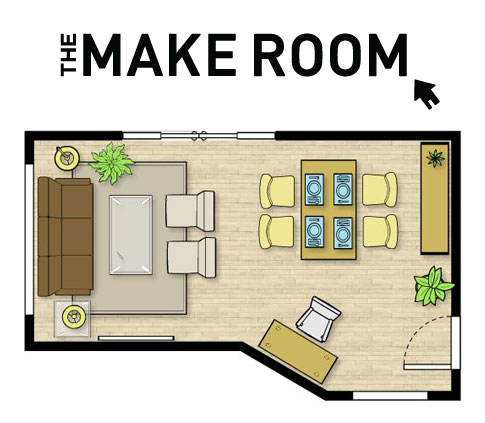 The Make Room Icovia Space Planner Lets You Play With How You Ll Arrange Your Furniture Before You Move Into Your New House New Homes Home And Garden