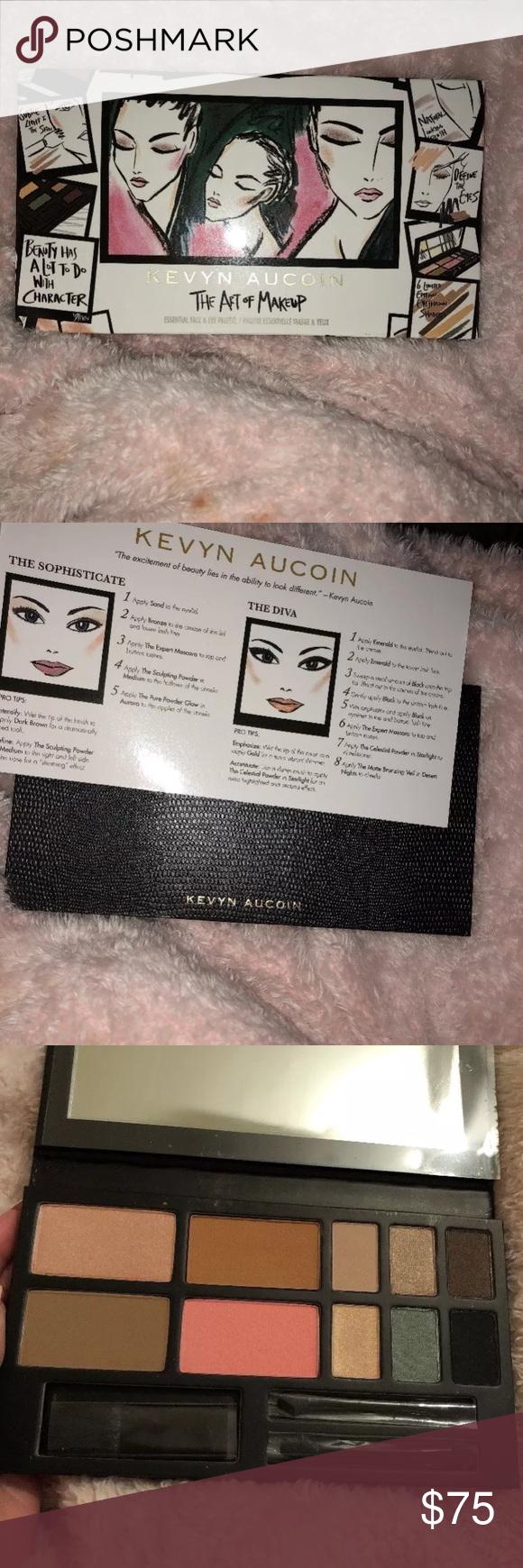 kevyn aucoin the art of makeup palette nwt my posh picks