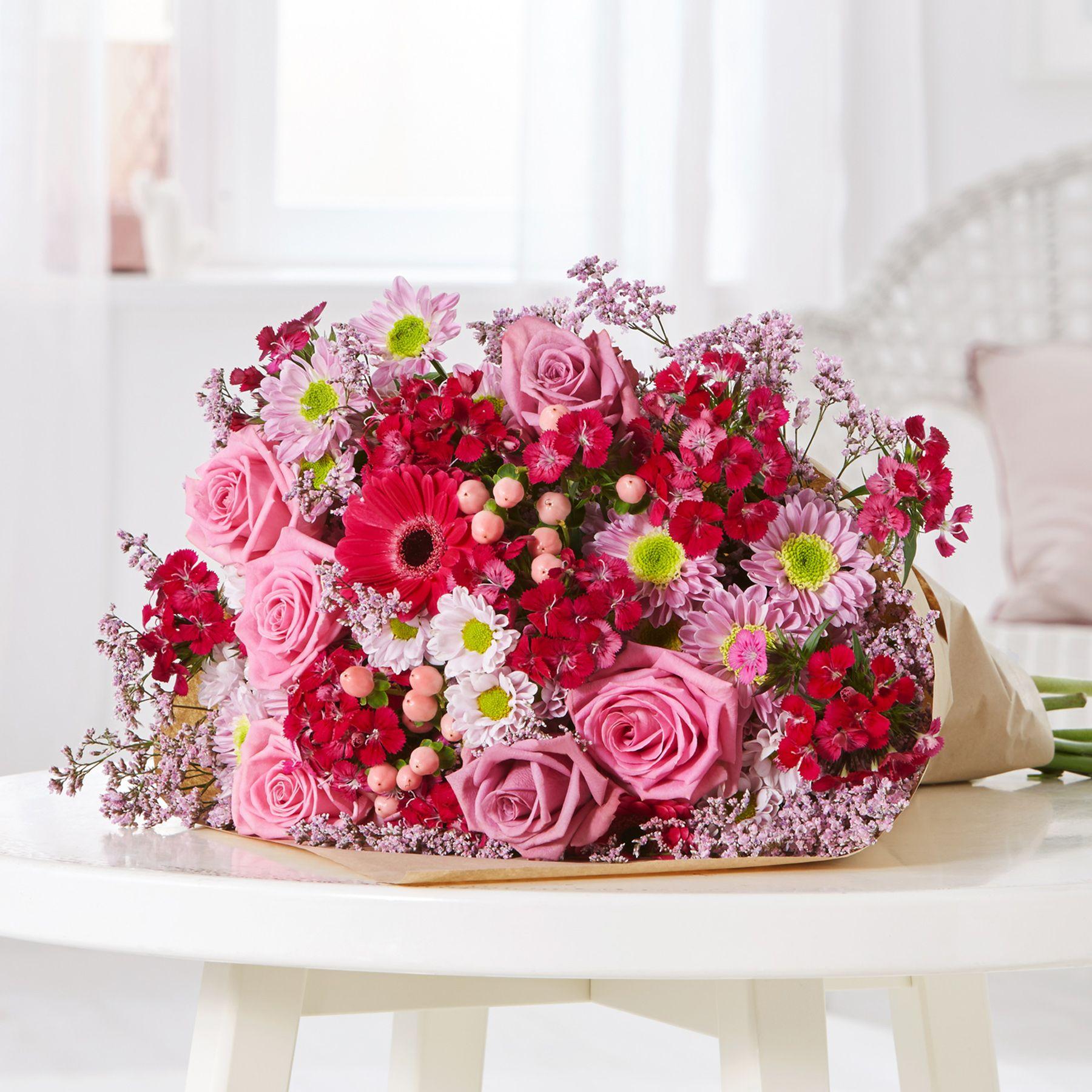 Blumen Zum Muttertag Unser Traumhaftes Bouquet Pretty In Pink Bringt Deine Mama Zum Strahlen Blumen Muttertag Pretty In Pink Blumen