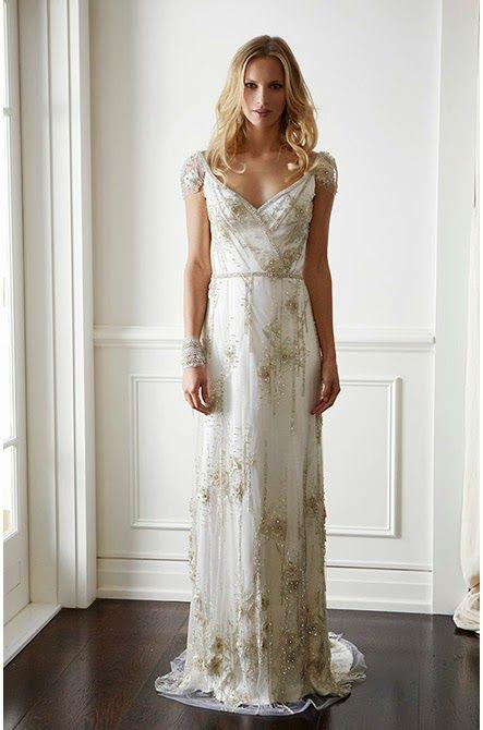vestidos de novia de estilo gran gatsby, ¡fan por lo vintage
