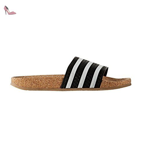 Tongs adidas – Adilette Cork W noir/blanc/caramel taille: 43 - Chaussures