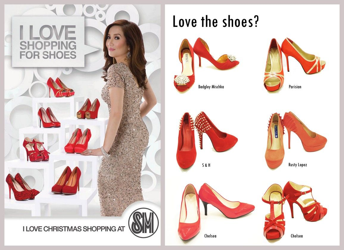 67b627960c1c Wanna see the gorgeous footwear in the latest Kris Aquino campaign? Check  this out! :o)