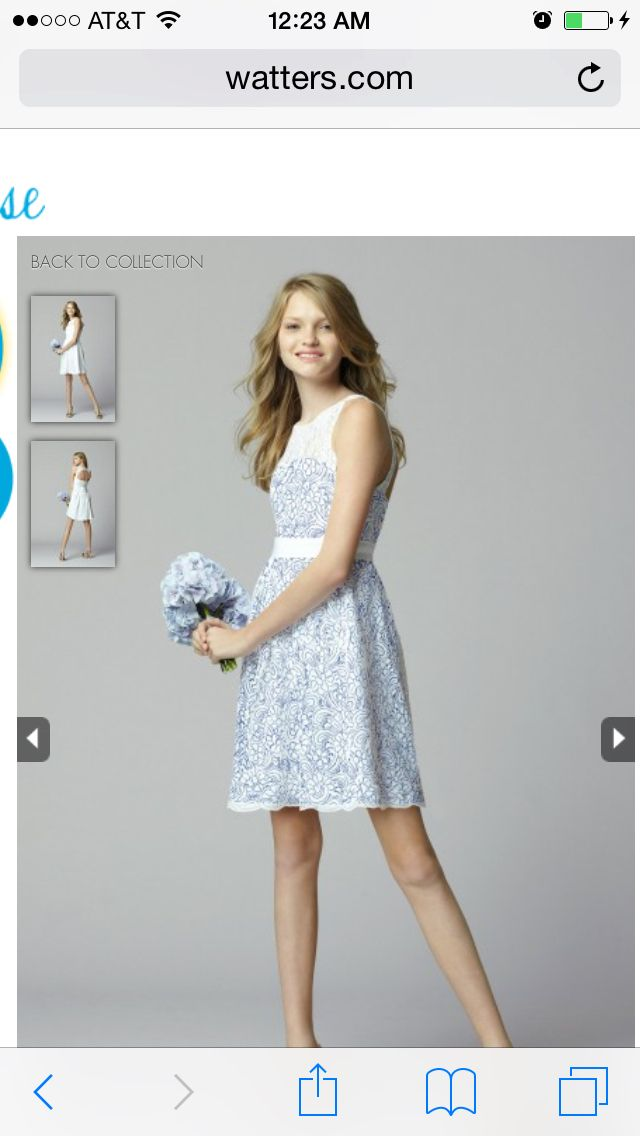 Junior bridesmaid dress | Wedding Ideas | Pinterest