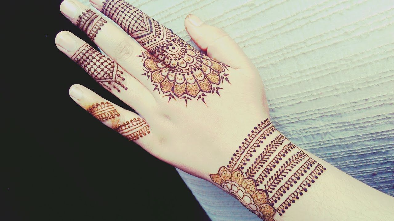 Mehndi Party List : Party mehndi design beautiful tutorial
