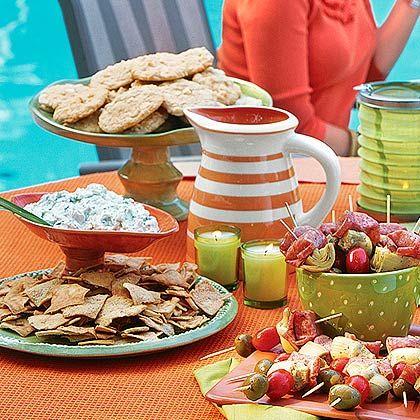 pool party menu
