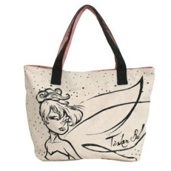 TINKERBELL SKETCH TOTE...really love this take on Tinkerbell..gives her an edge