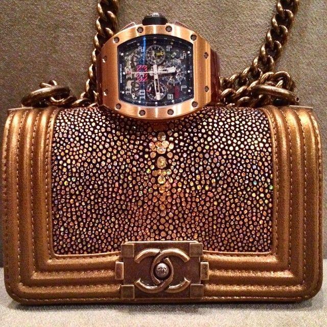 Chanel Boy Stingray Flap Bag Price   4 03cf28ea100f5
