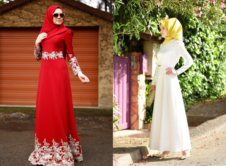 Sefa Merve Ozel Gunler Icin Tesettur Abiye Elbise Modelleri 2016 Elbise Modelleri Elbise Moda