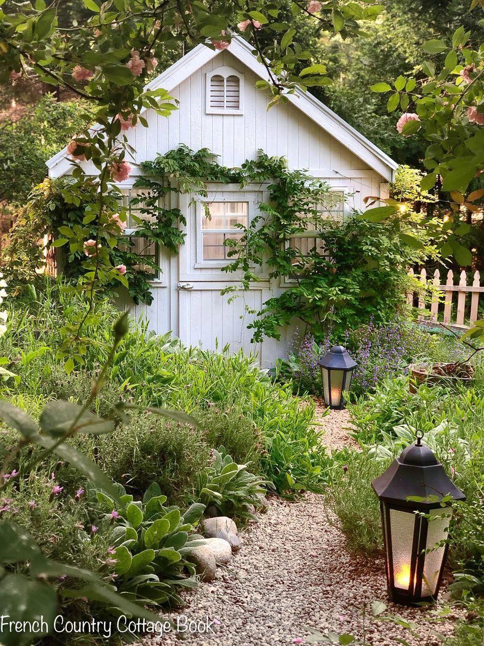 Creating An English Cottage Garden Lambs Ear French Country Garden Cottage Garden Country Garden Decor