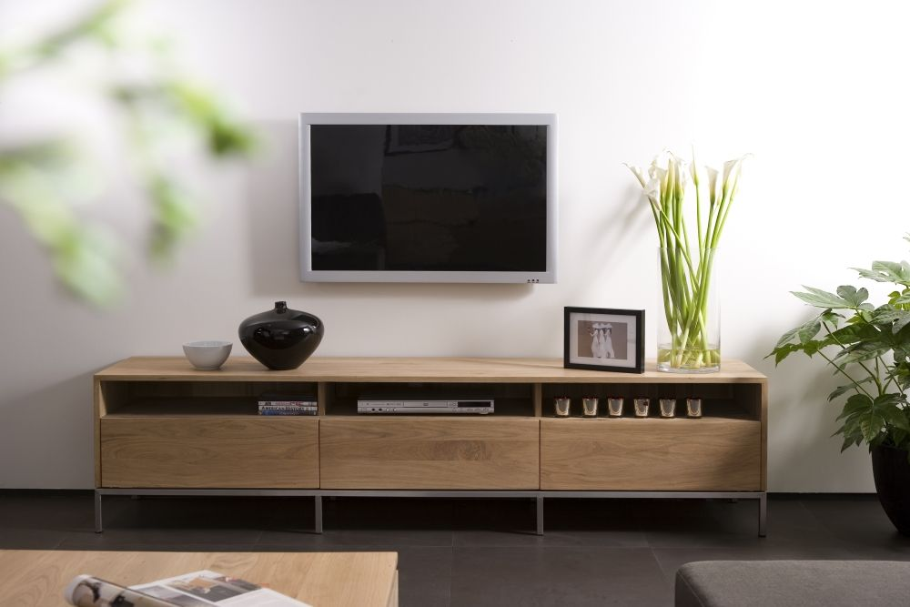 Ethnicraft Oak Ligna TV Unit | Webbers Furniture