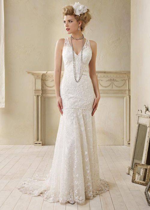 50 Great Gatsby Inspired Wedding Dresses Alfred Angelo 8507