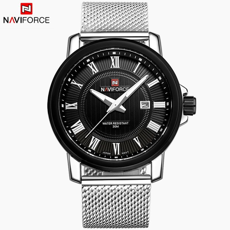 Luxury Stainless Steel Casual Wrist Watch
