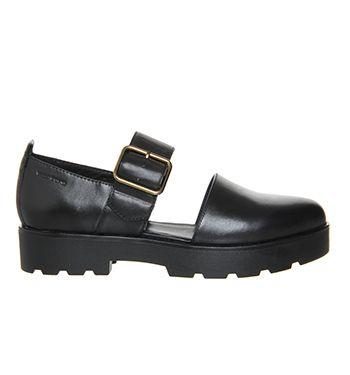 965cbf9501b8 Vagabond Aurora Cutout Black Leather - Mid Heels