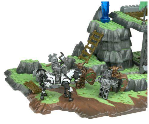 Amazon.com: Mega Bloks Dragons Sorcerers Lair: Toys ...