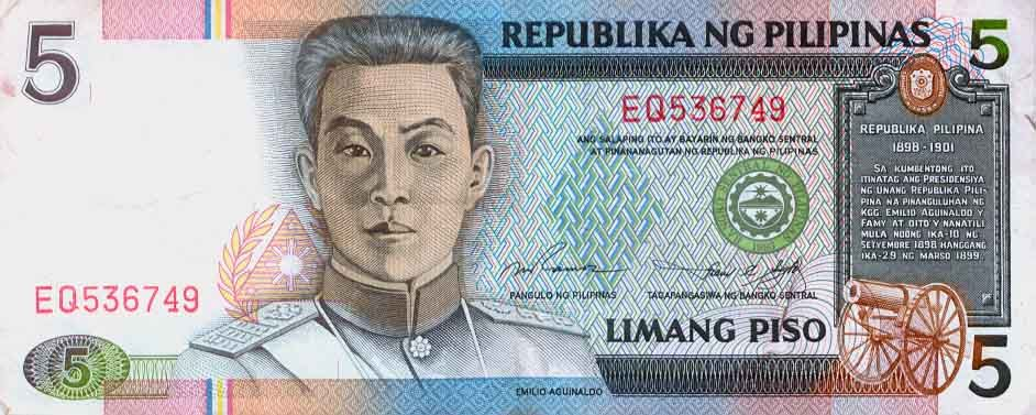 113 Banknotes Of The Philippines Peso Philippine Peso Bank