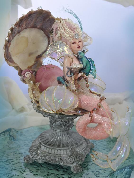 Rococo Sea Siren Mermaid by SutherlandArt