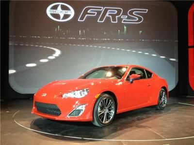 Scion FRS at 2012 Canadian Auto Show