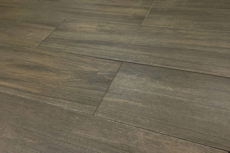 Acacia Nogal 9 in. x 34 in. Porcelain Wood Look Tile