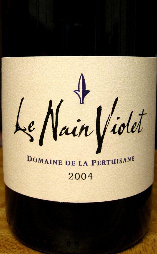 2004 Domaine De La Pertuisane Le Nain Violet Vin De Pays Des Cotes Catalanes Languedoc France Grenache Wine Wine Recipes Wine France Wine