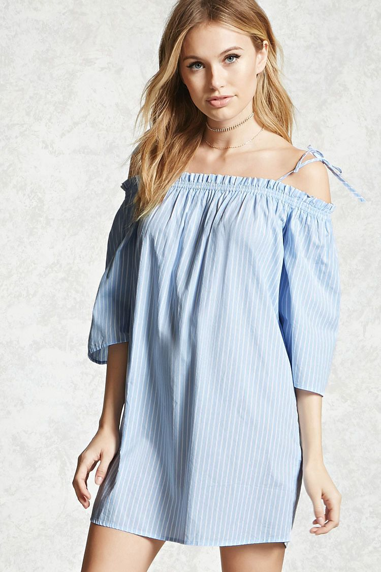 Forever contemporary a woven shift dress featuring allover