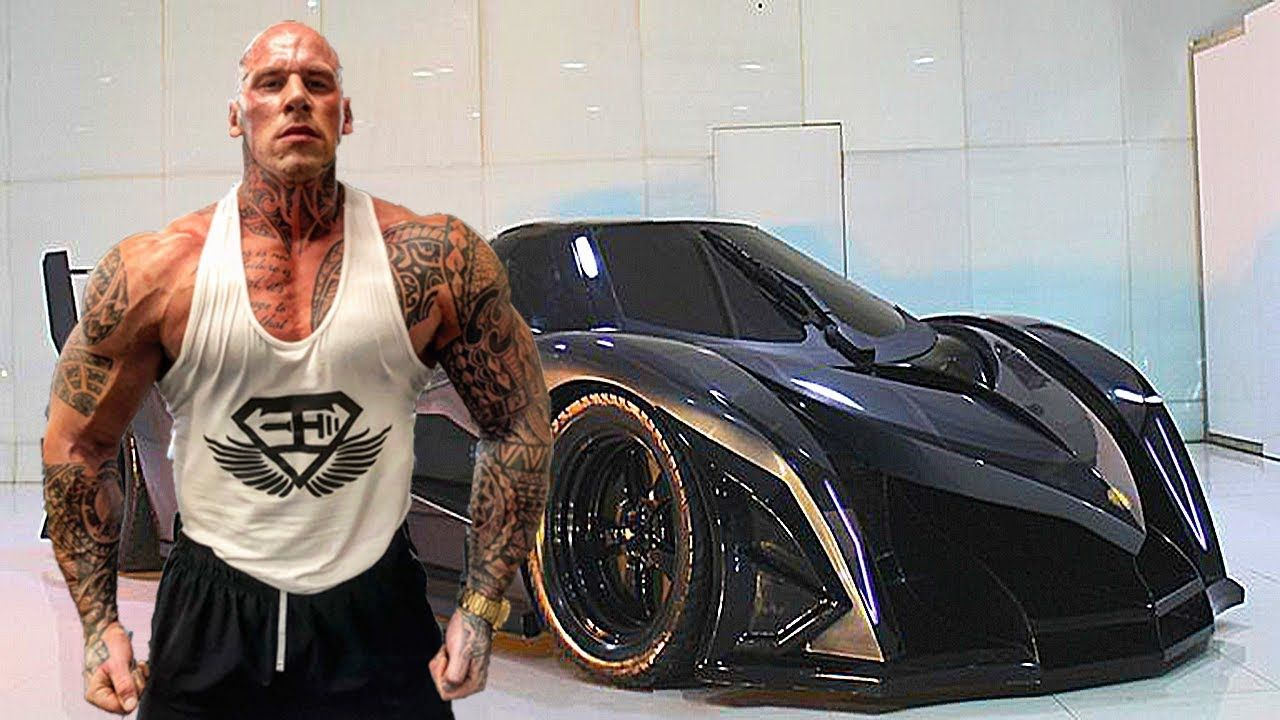 Martyn Ford Bodybuilder Lifestyle Wife Cars House Net Worth