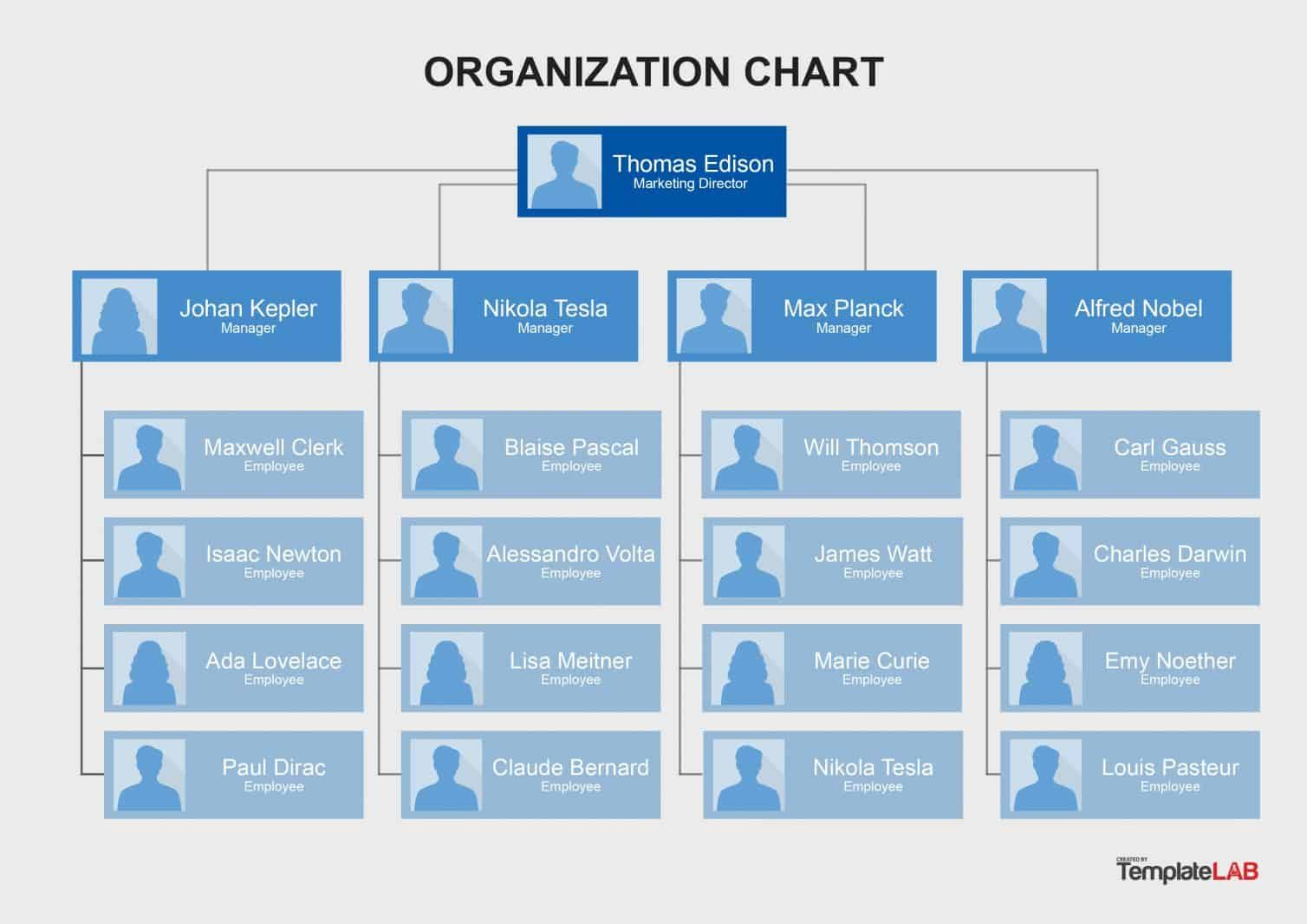 40 Organizational Chart Templates Word Excel Powerpoint With Regard To Company Organogram Template Word Organization Chart Organizational Chart Org Chart