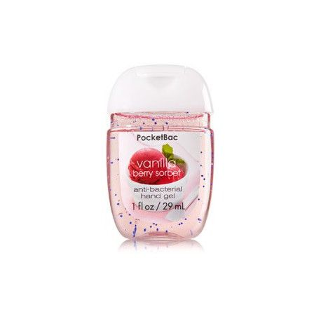 Mini Antibacterien Vanilla Berry Sorbet Bath And Body Works