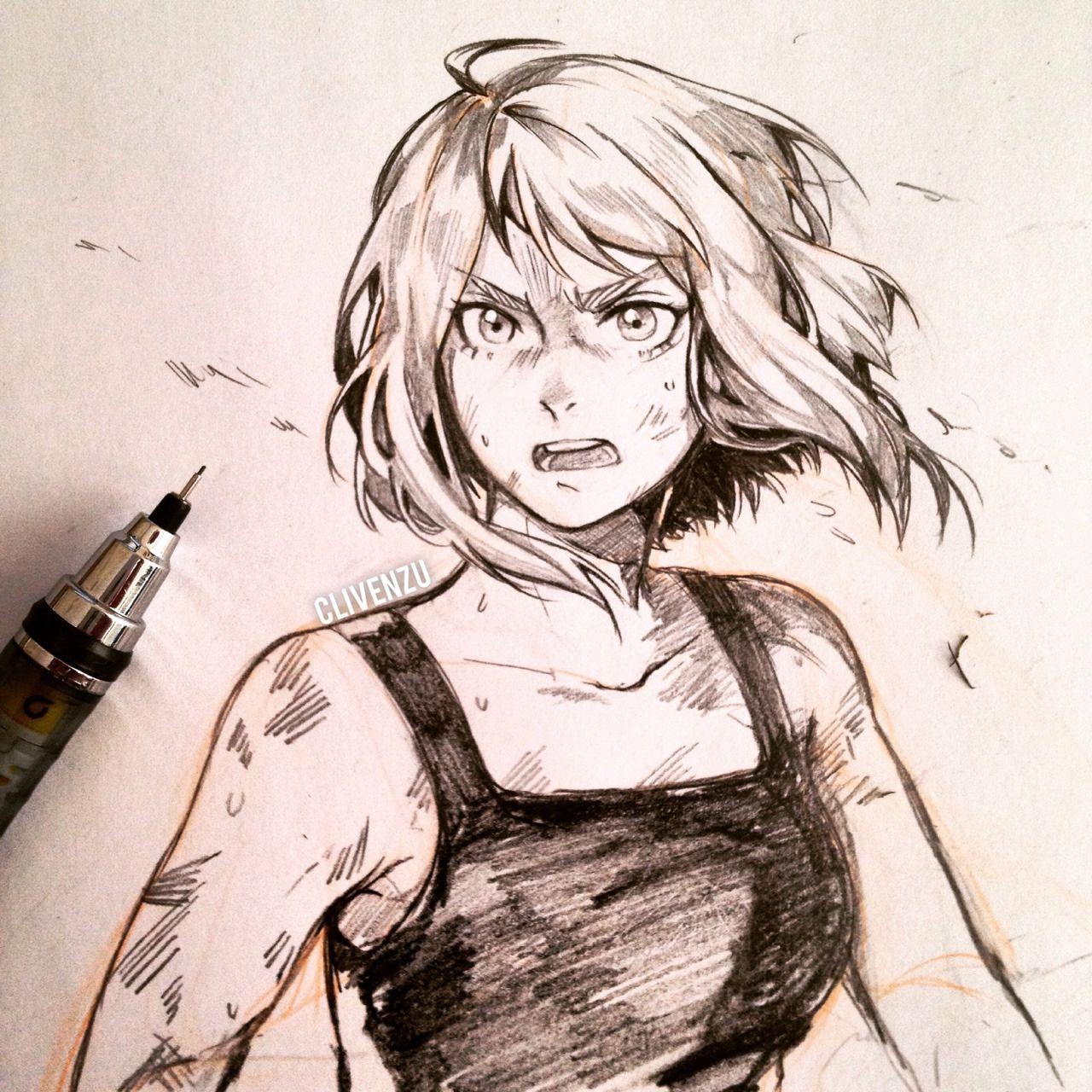 Uraraka Ochako (Dibujo/Drawing