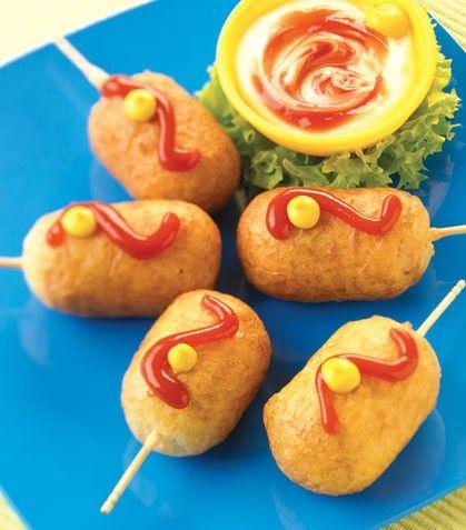 Banderillas coctel aperitivos y tapas comida para baby shower recetas comida fiesta - Cumpleanos infantiles comida ...